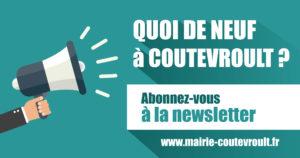Abonnez-vous à la newsletter de Coutevroult !